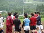 2日目練習~お天気は雨
